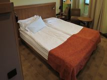Hotel room in Kaunas Royalty Free Stock Photos