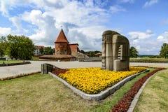 Kaunas, Lithuania, Europe kasztel fotografia royalty free