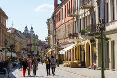 Kaunas, Lithuania Royalty Free Stock Photography