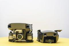 DJI Mavic Air and Mavic Pro drones Stock Image