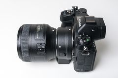 Nikon Z7 full-frame mirrorless camera royalty free stock photo
