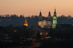 Kaunas (Lithuania) Old Town Stock Images