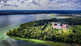 Kaunas, Lithuania: Pazaislis Monastery and Church Royalty Free Stock Photography