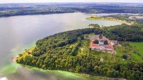 Kaunas, Lithuanie : Monastère et église de Pazaislis Photo stock