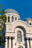 Kaunas, Lituania: Catedral de San Miguel el arcángel Foto de archivo libre de regalías