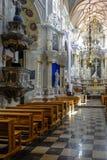 Kaunas, Lituania, Europa, cattedrale Immagine Stock Libera da Diritti