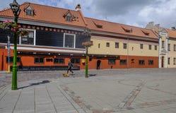 Kaunas, Lituania, Europa, la vecchia città Fotografia Stock Libera da Diritti