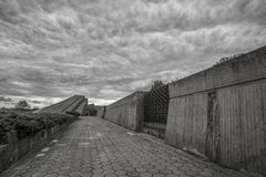 Kaunas Ninth Fort. The museum at Kaunas Ninth Fort Stock Photo
