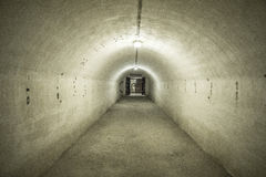 Kaunas Ninth Fort. The tunnels at Kaunas Ninth Fort Stock Photo