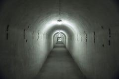 Kaunas Ninth Fort. The tunnels at Kaunas Ninth Fort Royalty Free Stock Photography