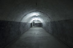 Kaunas Ninth Fort. The tunnels at Kaunas Ninth Fort Stock Photography
