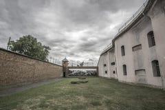 Kaunas Ninth Fort. The yard at Kaunas Ninth Fort Stock Photo