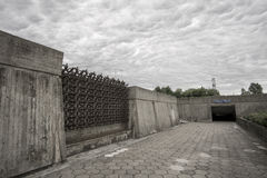Kaunas nionde fort Arkivfoton
