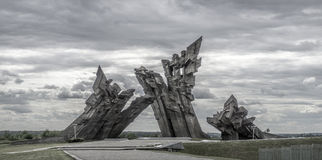 Kaunas nionde fort Royaltyfri Fotografi