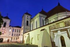 Kaunas Priest Seminary in Kaunas. Lithuania Royalty Free Stock Photography
