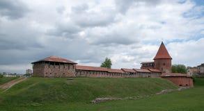 Kaunas-Schloss Stockfotografie