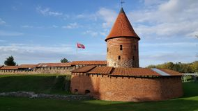 Kaunas slott Royaltyfri Bild