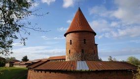 Kaunas slott Arkivfoton