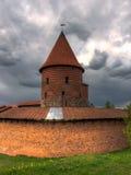 Kaunas slott Arkivbild