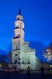 Kaunas stadshus Fotografering för Bildbyråer