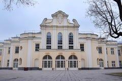 Kaunas stanu muzykalny theatre Zdjęcia Stock