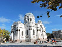 Kaunas town church , Lithuania Royalty Free Stock Image