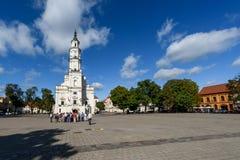Kaunas Town Hall, Lithuania Royalty Free Stock Photo