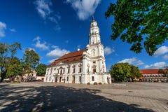 Kaunas Town Hall, Lithuania Royalty Free Stock Image