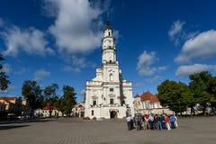 Kaunas Town Hall, Lithuania Royalty Free Stock Photography