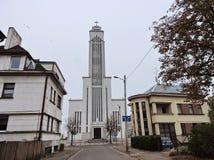 Kaunas town, Lithuania royalty free stock photos