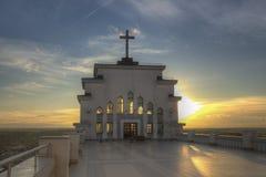 Kaunas unsere Lord Jesus Christ-` s Auferstehungs-Basilika Stockfotografie