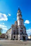 Kaunas urząd miasta zdjęcie stock