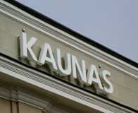 Kaunas Royalty Free Stock Images