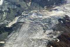 Kauner valley glacier Royalty Free Stock Images