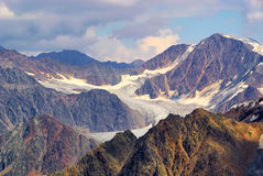 Kauner valley glacier Royalty Free Stock Photos