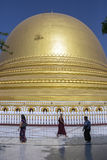 Kaung Mu Taw Pagoda - Sagaing - Myanmar Royalty Free Stock Image