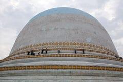 Kaunghmudaw Stupa in Sagaing, distretto di Mandalay, Myanmar Fotografia Stock Libera da Diritti