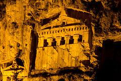 Kaunian rock tombs from Dalyan Stock Photography