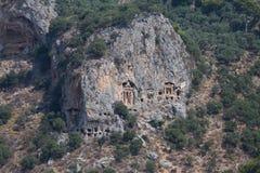 Kaunian rock tombs Royalty Free Stock Photo