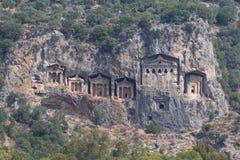 Kaunian rock tombs Stock Photo
