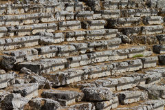 Kaunos amphitheatre  from Dalyan Stock Image
