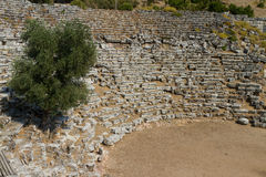 Kaunos amphitheatre  from Dalyan Stock Photo