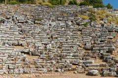 Kaunos amphitheatre  from Dalyan Stock Photography