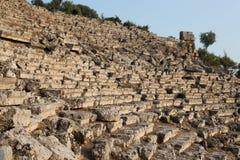 Kaunos amphitheatre Stock Images