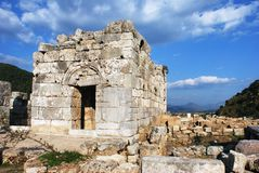 Kaunos Ancient City Royalty Free Stock Photos