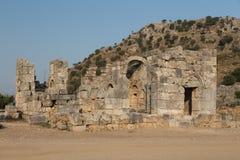 Kaunos ancient city Stock Photo