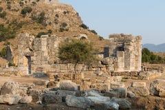 Kaunos ancient city Stock Image