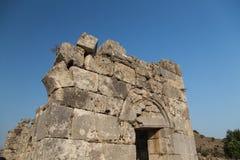 Kaunos ancient city Royalty Free Stock Image