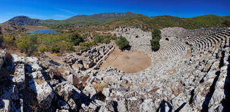 Kaunos Ruins, near Marmaris, Turkey Royalty Free Stock Image