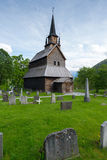 Kaupanger Stave church Royalty Free Stock Photography